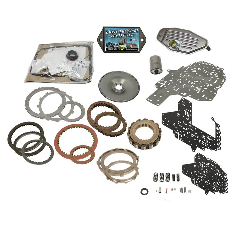 BD Diesel 1062025 Build-It Stage 4 Transmission Kit 68RFE w/Pro Tect 68  Heavy Duty Trans Pan Recommended