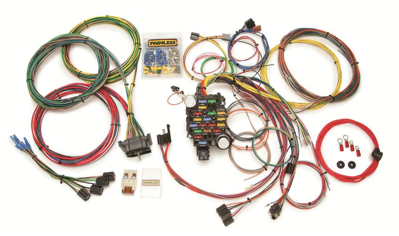 PAINLESS 10206 28 Circuit Classic-Plus Customizable Chassis Harness