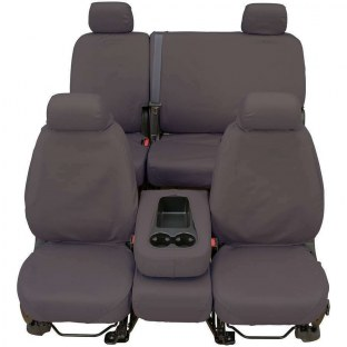 COVERCRAFT SS2533PCGY Grey Polycotton Saver Custom Seat Covers