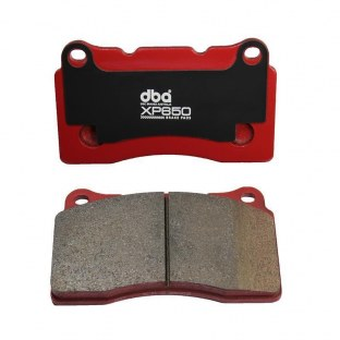 2012 Mercedes-Benz ML350 XP650 Track/Heavy Load Performance Brake Pads D1629 Pad Shape NHC1972 - DBA DB8655XP