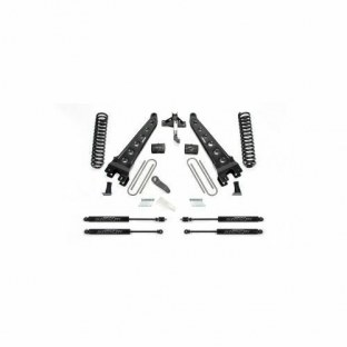 Fabtech K2256M Radius Arm Lift System w/Stealth Monotube Shocks 6 in. Lift Radius Arm Lift System