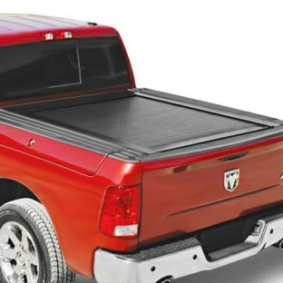 Pace Edwards JRDA32A63 For Ram 1500 19 JackRabbit Hard Retractable Manual Tonneau Cover