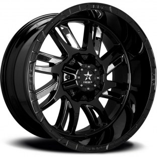 2014 Chevrolet Tahoe 69R Swat 20x10 6x135/6x139.7 (6x5.5) -12mm Black Wheels Rims - Rbp 69R-2010-70-12BP