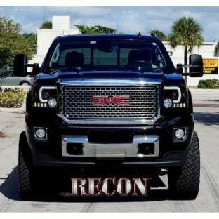 2017 GMC Sierra 3500 HD Projector Headlight - Recon 264295BKC