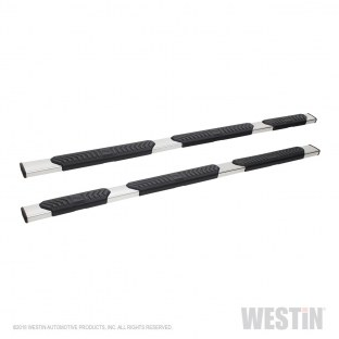 WESTIN 28-534720 R5 Modular Wheel-to-Wheel Nerf Step Bar 5 in. Stainless Steel Incl. Hardware No Drilling Required R5 Modular